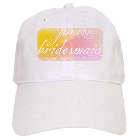 Fancy white handwriting scrip Cap