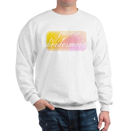 Fancy white handwriting scrip Sweatshirt
