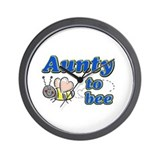 Aunty to bee Wall Clock