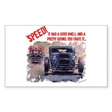 Speed! Rectangle Sticker 50 pk)