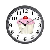 Cupcake Wall Clock
