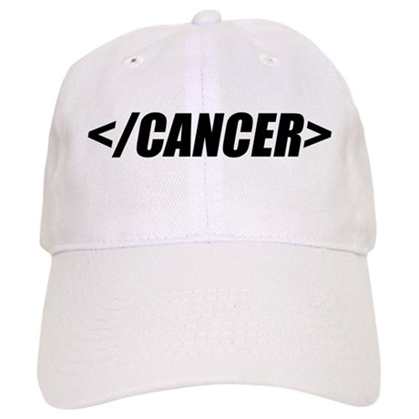 Geeky End Cancer Cap