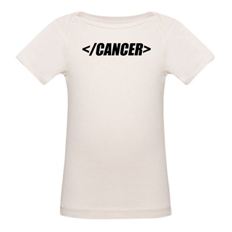Geeky End Cancer Organic Baby T-Shirt