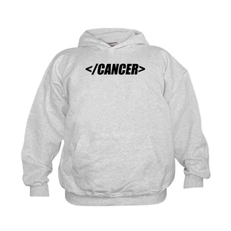 Geeky End Cancer Kids Hoodie