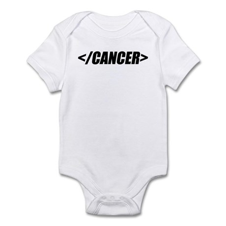 Geeky End Cancer Infant Bodysuit