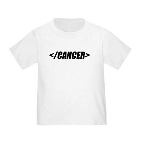 Geeky End Cancer Toddler T-Shirt