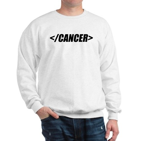 Geeky End Cancer Sweatshirt