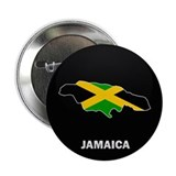 "Flag Map of Jamaica 2.25"" Button (10 pack)"