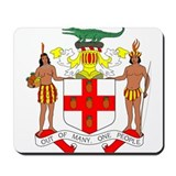 Jamaica Coat of Arms Mousepad