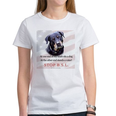 Rottie Political Women's T-Shirt