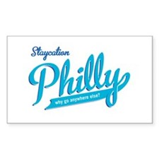 Philly Staycation Rectangle Sticker