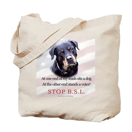 Rottie Political Tote Bag