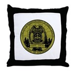 Riverton Police Throw Pillow
