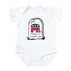 Dance Here Infant Bodysuit