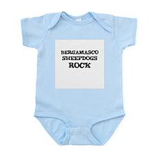 BERGAMASCO SHEEPDOGS ROCK Infant Creeper