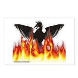 Cute Phoenix Postcards (Package of 8)