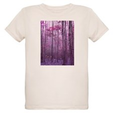 Violet Winter Woods T-Shirt