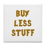 Buy Less Tile Coaster