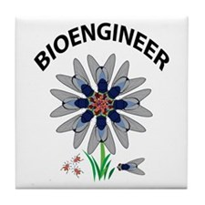 Bioengineer Illusion Tile Coaster