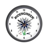 Bioengineer Illusion Wall Clock