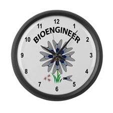 Bioengineer Illusion Large Wall Clock