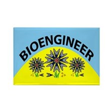 Bioengineer Illusion Rectangle Magnet (10 pack)