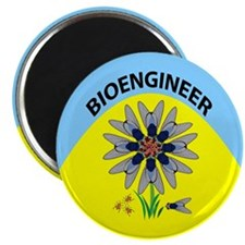 "Bioengineer Illusion 2.25"" Magnet (100 pack)"