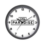 Paradise End, San Francisco Wall Clock