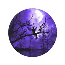 """Celestial Night 3.5"""" Button (100 pack)"""