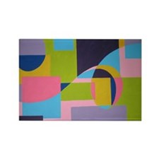 The Swirl Rectangle Magnet (10 pack)