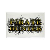 Pirate Hunter Rectangle Magnet