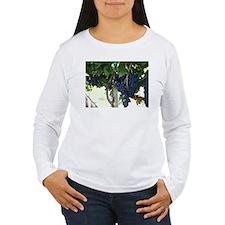 Women's Grape Vine Long Sleeve T-Shirt