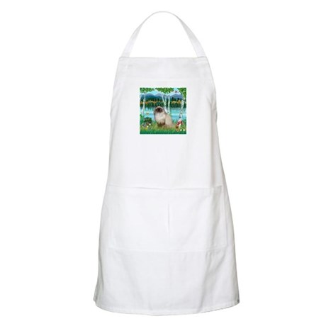 Birches / Himalayan Cat BBQ Apron