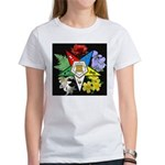 Eastern Star Floral Emblem - Women's T-Shirt