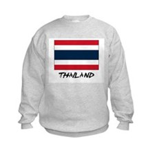 Thailand Flag Sweatshirt