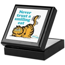 Smiling Cat Keepsake Box