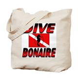 Dive Bonaire (red) Tote Bag