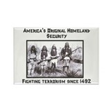 """Homeland Security"" Rectangle Magnet (10 pack)"