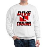 Dive Cozumel (red) Sweatshirt