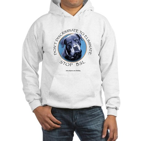 Rottie (circle) Hooded Sweatshirt