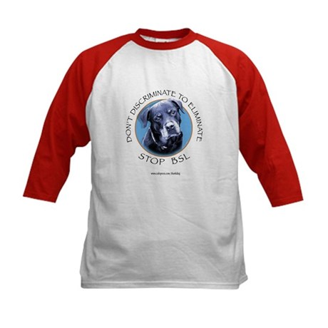 Rottie (circle) Kids Baseball Jersey