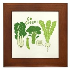 Go Green! Framed Tile