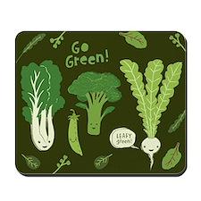 Go Green! Mousepad