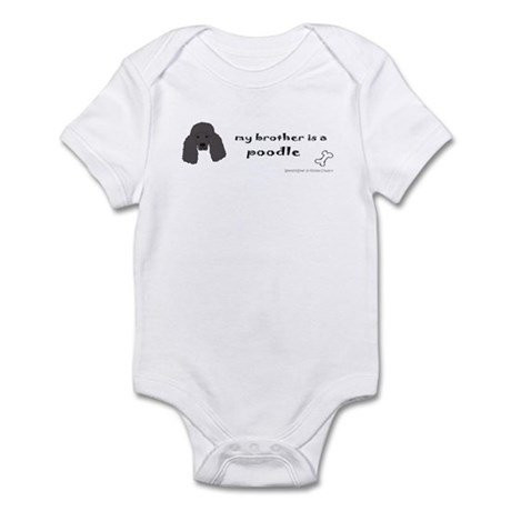 poodle - standard Infant Bodysuit