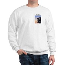 Old Man of the Mountain at Dusk Sweatshirt
