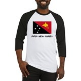 Papua New Guinea Flag Baseball Jersey