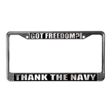 Got Freedom License Plate Frame