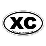 Oley Valley XC Euro Oval Decal