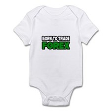 """Born To Trade Forex"" Infant Bodysuit"