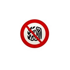 No IRS Mini Button (10 pack)